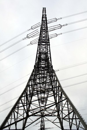 Electricity pylon Imagens - 7547466