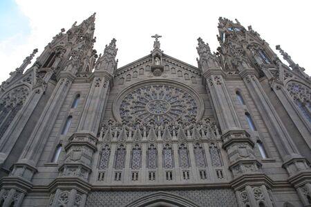 cathedral in Arucas (Gran Canaria)