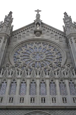 cathedral in Arucas (Gran Canaria) photo