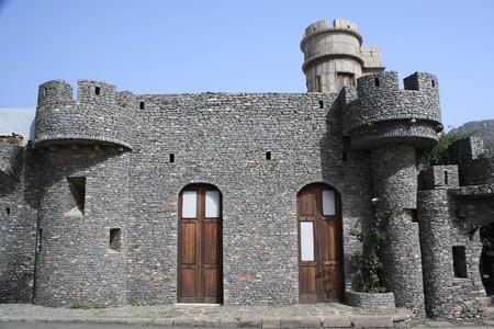 lucia: houses,Santa Lucia,Gran Canaria,Spain