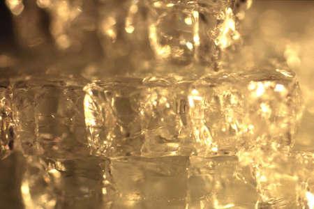 macroshot: broken glass abstract background Stock Photo