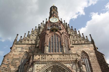 frauenkirche: Frauenkirche, N�rnberg Lizenzfreie Bilder