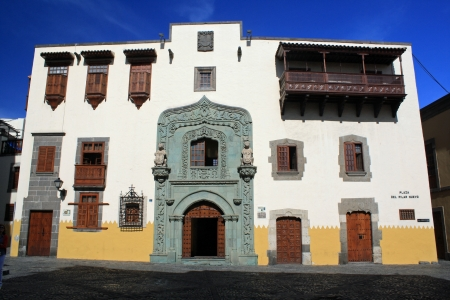 casa colon: casa de colon,Las Palmas,Gran Canaria,Spain Stock Photo