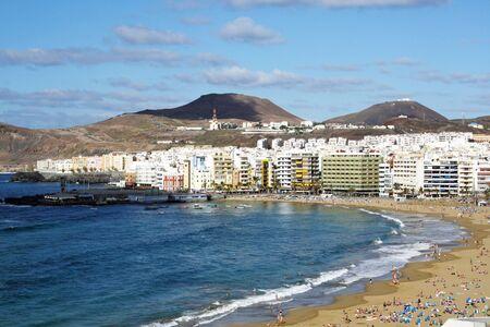 beach Las Canteras,Las Palmas,Gran Canaria,Spain Stock Photo - 19632954