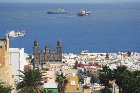 gran canaria: cathedral,Las Palmas,Gran Canaria Stock Photo