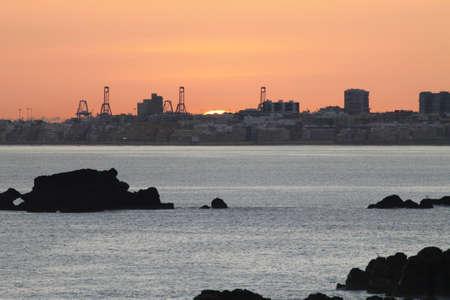 gran canaria: zonsopgang, Gran Canaria, Spanje