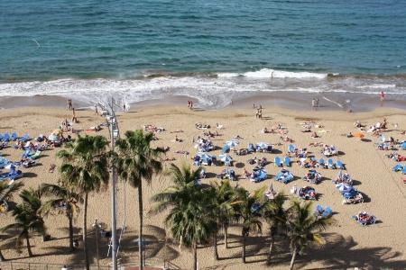 beach Las Canteras,Las Palmas,Gran Canaria,Spain Stock Photo - 24835771