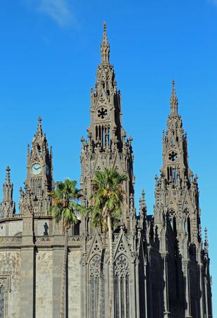 gran canaria: cathedral, Arucas, Gran Canaria Stockfoto