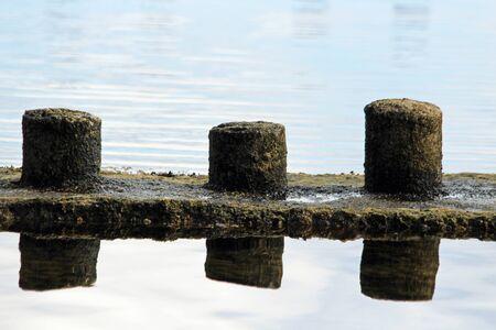 breakwater: Breakwater, Gran Canaria, Spain Stock Photo