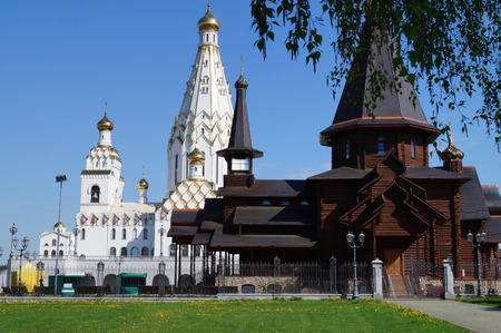 Orthodoxy. Religion. Temples of Belarus. Svyatotroitsky and All Saints churches photo