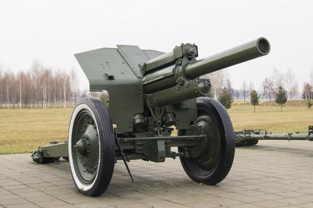 seconda guerra mondiale: Obice durante la Seconda Guerra Mondiale. Calibro 122 millimetri Editoriali