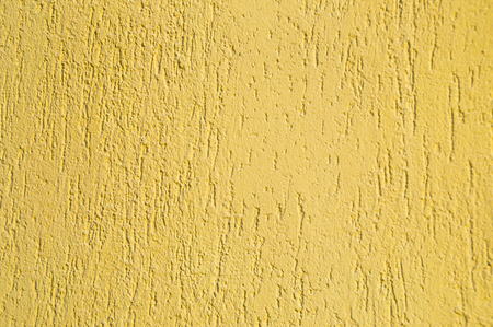 plastered wall: Structure of the yellow plastered wall