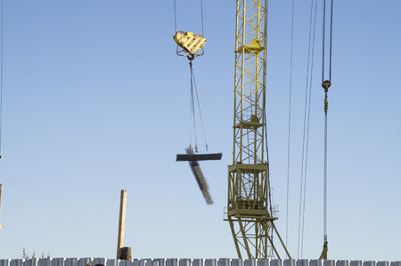 adaptations: Lifting and cargo carrying over by the high-rise crane