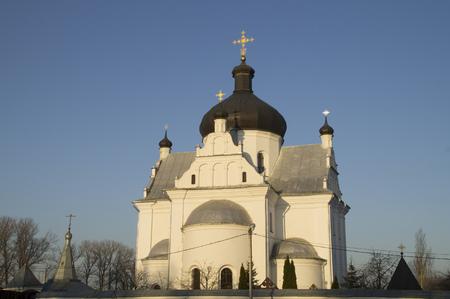 nicholas: Saints - St. Nicholas Church at dawn Stock Photo