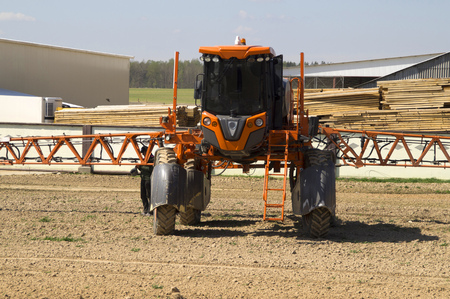 deployed: specialized agricultural equipment for irrigation