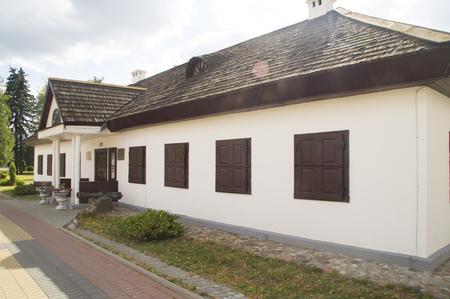 commander: House Museum of Russian commander Alexander Suvorov. Kobrin. Belarus Stock Photo