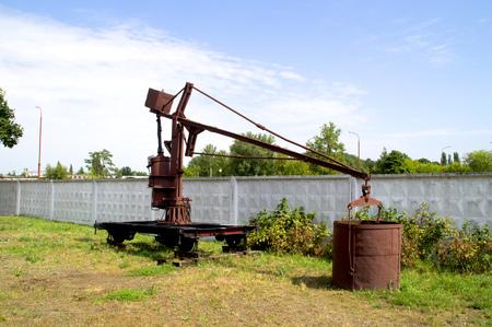 loader: Former coal loader for locomotives