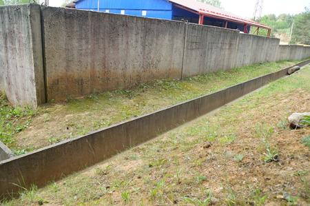 concrete storm sewage system