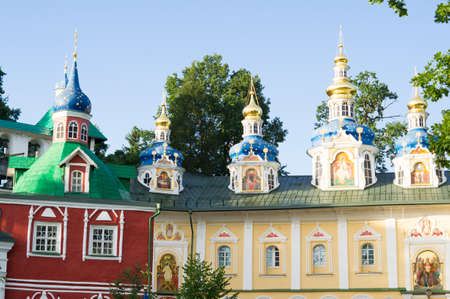 pictured Holy Dormition Pskov-Caves monastery