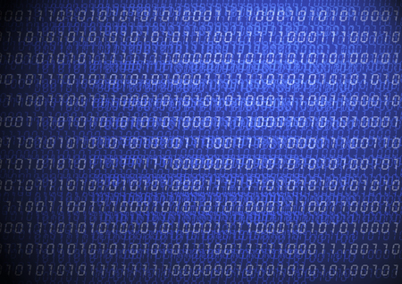 Binary computer code background 01 numbers , Matrix data technology for cyber design , soft ,blur 写真素材 - 92773855
