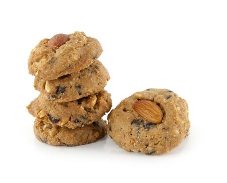 chuparse los dedos: Las deliciosas galletas con trocitos de almendra tradicionales ciocolata