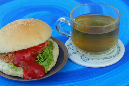 Food and tea photo