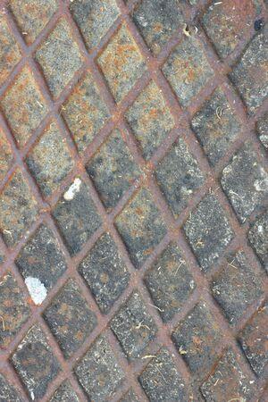 Steel floor  Stock Photo
