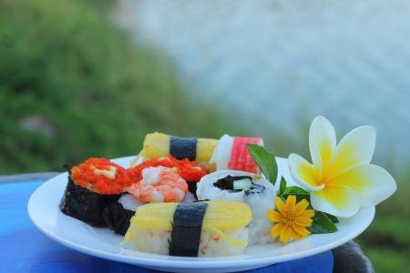 Japanese sushi   Stock Photo - 16893816