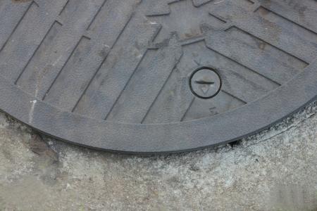 Pipe cement floor  photo