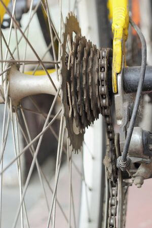 Bicycle chain  photo