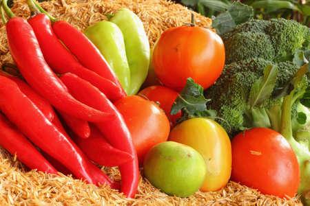 ethos: Fresh vegetable Stock Photo