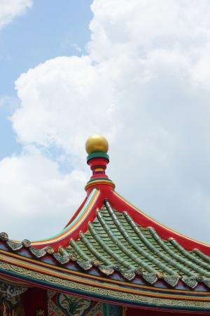 dormer: Roof against the sky