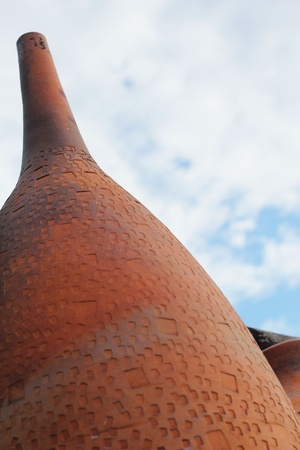 earthenware: Earthenware - sky