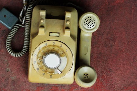 Old phone  Stock Photo - 19840681