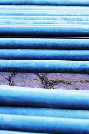Concrete drainage pipe photo