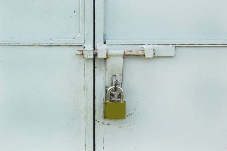 Key lock gates. photo