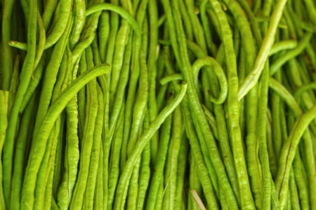 long bean in the market Stock Photo - 22740573