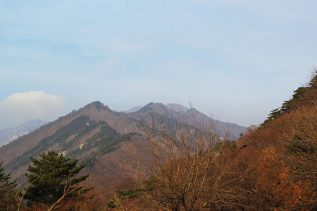 beautiful landscape at Seoraksan Korea  photo