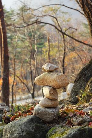 blessings: Zen stone building holy blessings .
