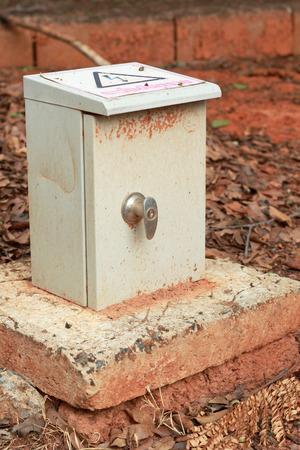 control box: transformer cabinet, Outdoor electric control box