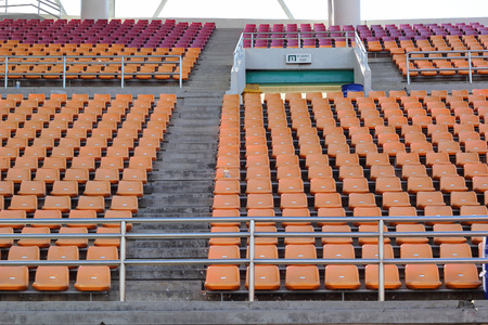 Stadium seats for watch some sport or football