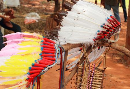 capo indiano: native american indian chief copricapo