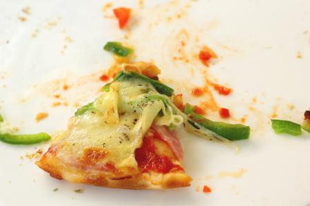 ham cheese: Queso Jam�n de pizza italiana y la pimienta Foto de archivo