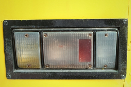 orginal: Old vintage car tail light.