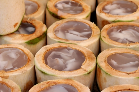 agar: coconut agar delicious , asian dessert
