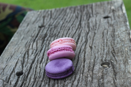 multi colorful: French macaroons multi colorful is delicious