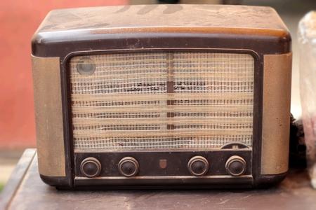 shortwave: radio antique vintage of beauty Stock Photo