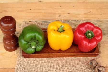 Sweet bell pepper fresh organic Stock Photo - 46392564