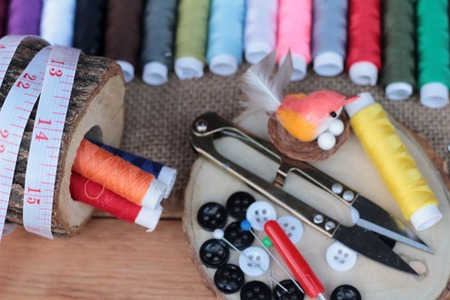 sewing supplies: Sewing Supplies ,scissors thread with and scissors