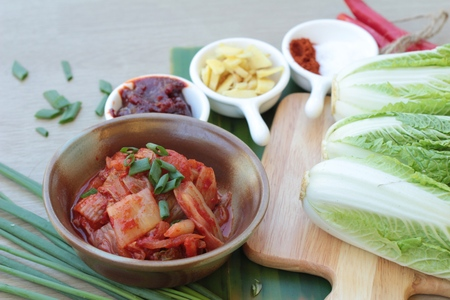 Kimchi of korean food traditional is delicious Stock Photo